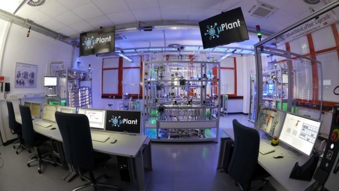 Blick in das Fabrik-Modell. (Bild: ISAC)