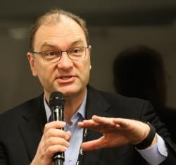Edwin Paalvast, Leiter des Europageschäfts bei Cisco, unterstrich das Cisco bereits jetzt hinter IBM und Symantec drittgrößtr Anbieter von IT-Security ist. (Bild: Cisco)