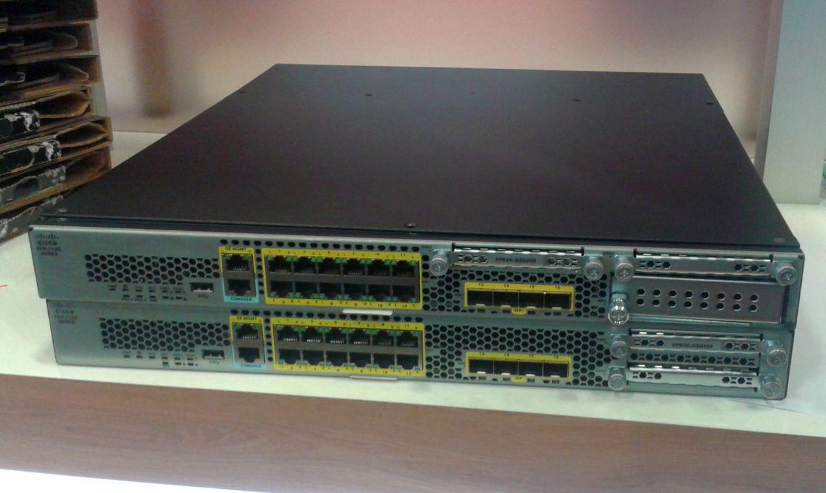Die Next-Generation-Firewall Cisco Firepower 2100 gibt es in zwei Modellvarianten udn jeweils zwei Ausführungen. (Bild: silicon.de)