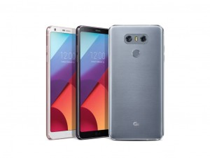 Das LG G6 mit dem ungewöhnlichen Display-Verhältnis 18:9. (Bild: LG)