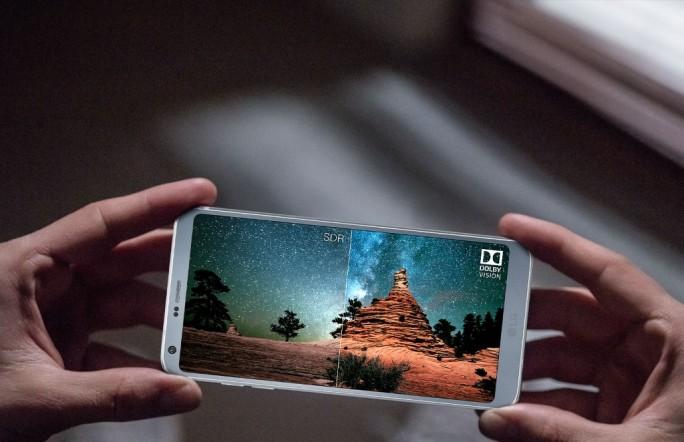 LG G6 unterstützt Dolby Vision und HDR 10 was vor allem für eine bessere Anzeige und Dynamik sorgt. (Bild: LG)