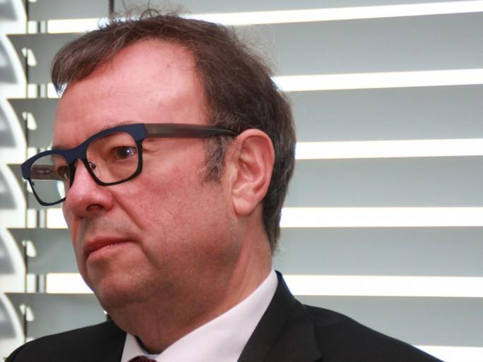 """""""Standards müssen sich im Markt etablieren"""" , von politischen Einmischungen für die Standards bei IoT hält Dr. Rainer Kallenbach, CEO von Bosch Software Innovations, nichts. (Bild: Martin Schindler)"""