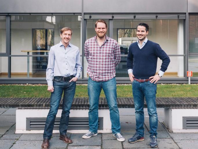 Die SMACC-Gründer Stefan Korsch, Uli Erxleben und Janosch Novak (Bild: SMACC)