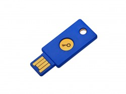 Hardware-Key für Zwei-Faktor-Authentifizierung (Bild: Yubico)