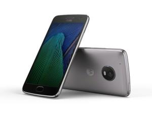 Motorola Moto G5 in Lunar Grey. (Bild: Lenovo)