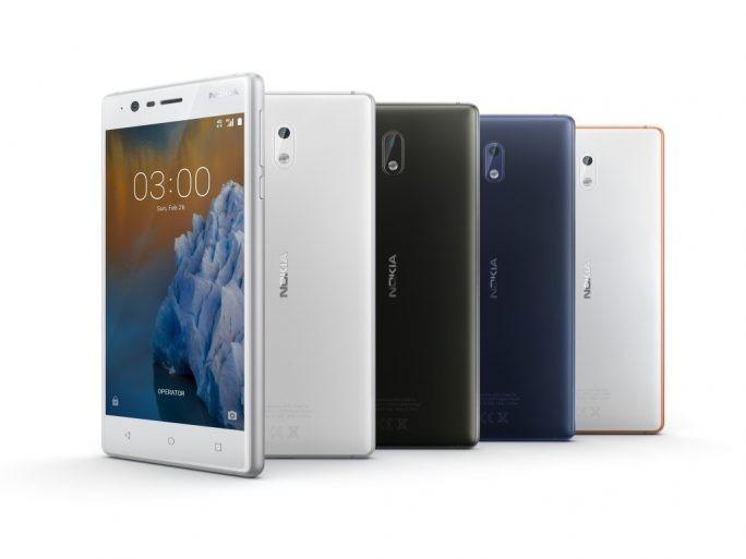 Das Nokia 3 soll ab 139 Euro ab dem zweiten Quartal zu haben sein. (Bild: HDM Global)