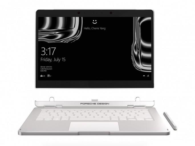 Das Book One ist ein 2-in-1-Gerät mit abnehmbarer Tablet-Einheit. (Bild: Porsche Design)
