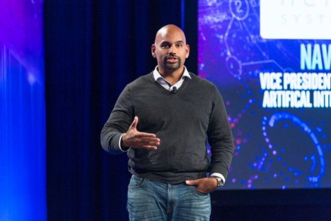 Naveen Rao, VP Data Center Group, GM Artificial Intelligence Solutions und Gründer und CEO von Nervana Systems. (Bild: Intel)