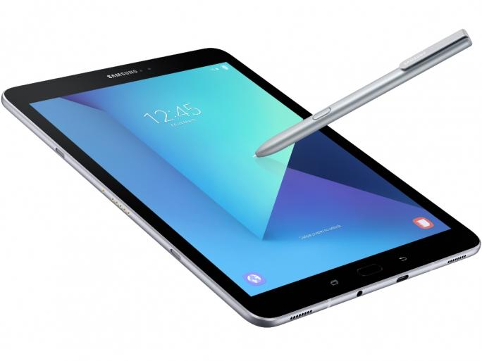 Das Samsung Galaxy Tab S3 soll vor allem der Unterhaltung dienen. (Bild: Samsung)