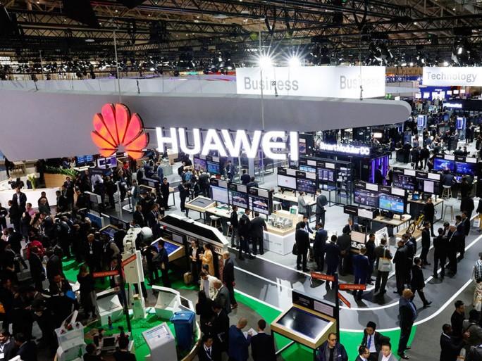 Huawei gehörte bei der CeBIT 2017 zu den Firmen mit dem größten Auftritt auf der Messe. (Bild: Huawei)