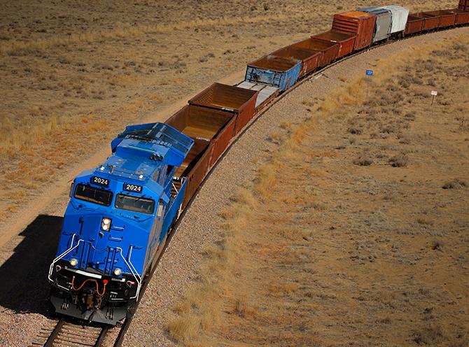 GE wird das digitale Management von 250 Lokomotiven der Deutschen Bahn übernehmen. (Bild: GE)