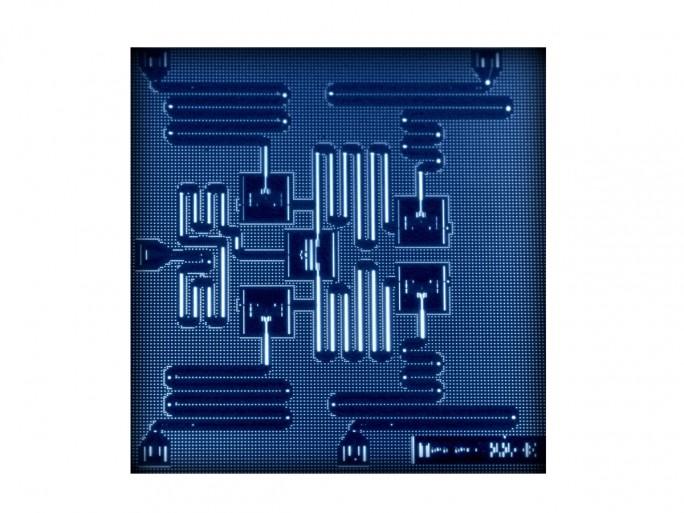 IBM 5 Qubit Prozessor (Bild: IBM Research)