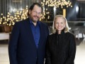 Marc Benioff, Chairman und CEO bei Salesforce, und Ginni Rometty, Chairman, Präsident und CEO von IBM (Bild: Jon Simon/Feature Photo Service for IBM)