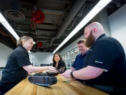 Blick in Microsofts IoT Insider Lab in Redmond (Bild: Microsoft)