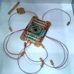 Herzstück des auch von Volkswagen für seine Forschungen genutzten Quantencomputers von D-Wave Systems (Bild: silicon.de)
