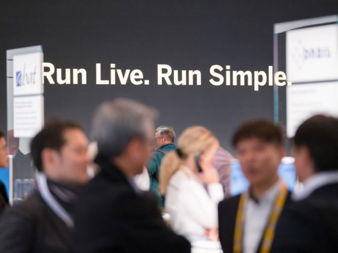 SAP auf der CeBIT 2017.
