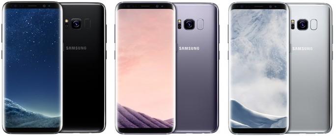 Das Samsung Galaxy S8 fällt etwas länglicher aus als der Vorgänger (Bild: Samsung)