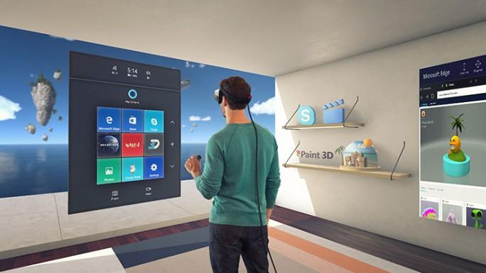 Das Windows 10 Creators Update bietet unter anderem auch neue Funktionen für Virtual- und Mixed-Reality-Anwendungen. (Bild: Microsoft)