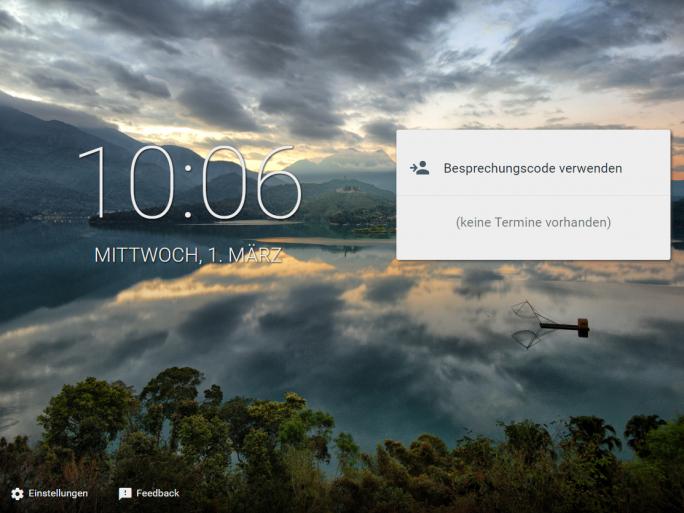 So sieht Google Meet derzeit im Browser aus. (Screenshot: ZDNet.de)