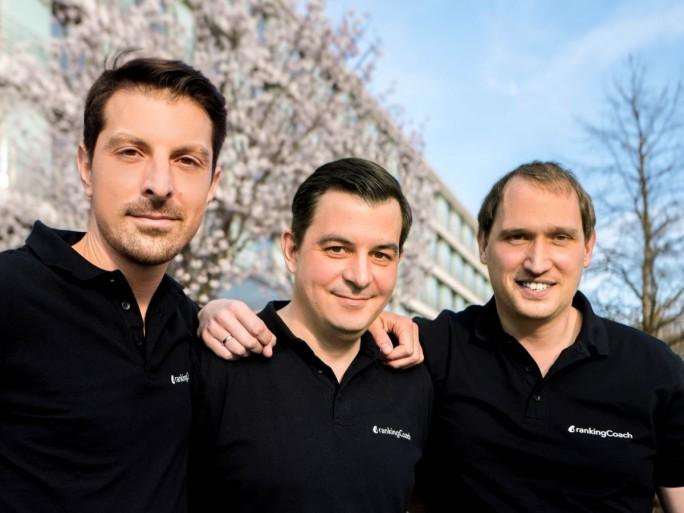 Daniel Wette, Marius Gerdan und Thomas Meierkord, die Gründer von rankingCoch (Bild: rankingCoach)