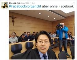 Anwalt Chan-jo Jun bei der Urteilsverkündung im Landgericht Würzburg (Screenshot: silicon.de bei Twitter)
