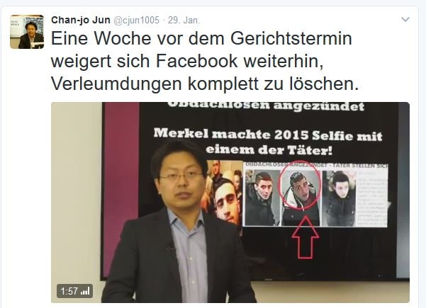 Anwalt Chan-jo Jun (Screenshot: silicon.de bei Twitter)