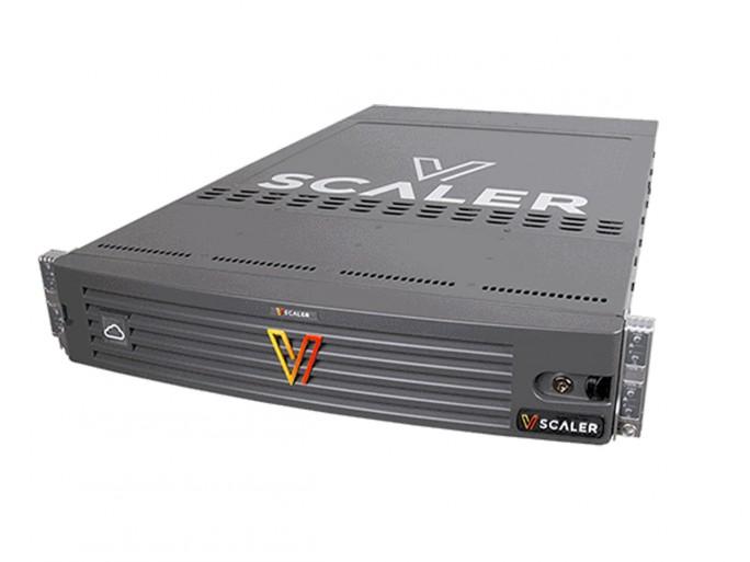 Für vScaler verwendet Boston ausschließlich nichtflüchtige Speicherelemente (NVMe und SSD), die Leistung wird durch Co-Prozessoren verbessert. ( Bild: Boston)