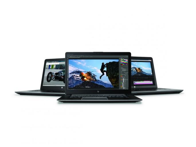 HP liefert vier neue Workstations der ZBook-Familie. (Bild: HP)