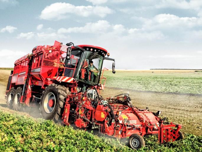 In einer Kooperation mit dem Fraunhofer ESK und dem Landmaschinenhersteller Holmer ist Huawrei auch an einer IoT-Lösung für vorausschauende Wartung (Predictive Maintenance) beteiligt. (Bild: Holmer Maschinenbau)