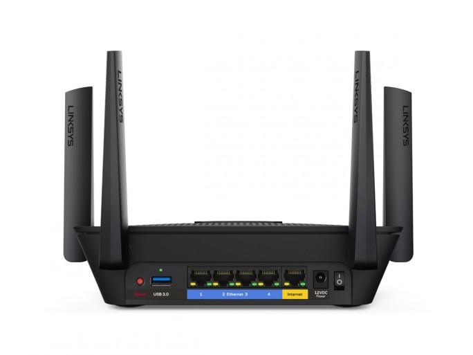 Der Linksys-Router EA8300 soll von Sicherheitslecks betroffen sein. (Bild: Linksys)
