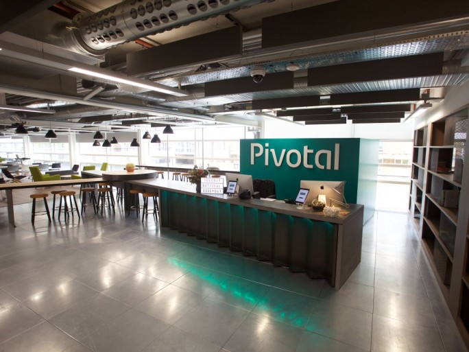 Im Londoner Büro von Pivotal (Bild: Pivotal)