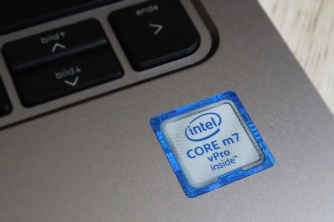 Der Käufer kann beim Elitebook Folio G1 zwischen Intels Mobilprozessoren Core m5 und Core m7 wählen. (Foto: Mehmet Toprak)
