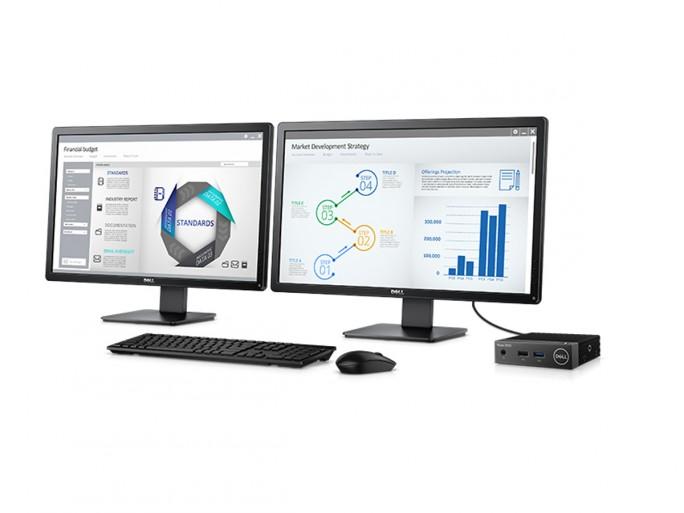 Der Wyse 3040 unterstützt bei der Dual-Display-Nutzung eine Auflösung von jeweils 2560 mal 1600 Pixel. (Bild: Dell)