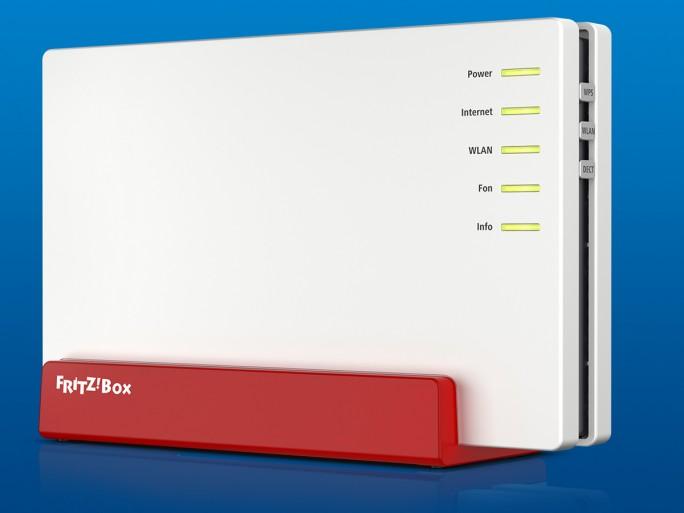 Beim G.fast-Angebot von M-net kommt die Fritz Box 7582 von AVM zum Einsatz, die laut Hersteller derzeit auch der einzige WLAN-Router mit Unterstützung für Supervectoring 35b in Deutschland ist (Bild: AVM)