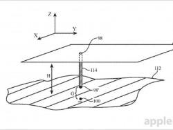 Skizze aus dem Apple-Antrag auf ein Patent für drahtloses Aufladen (Bild: Apple / USPTO)