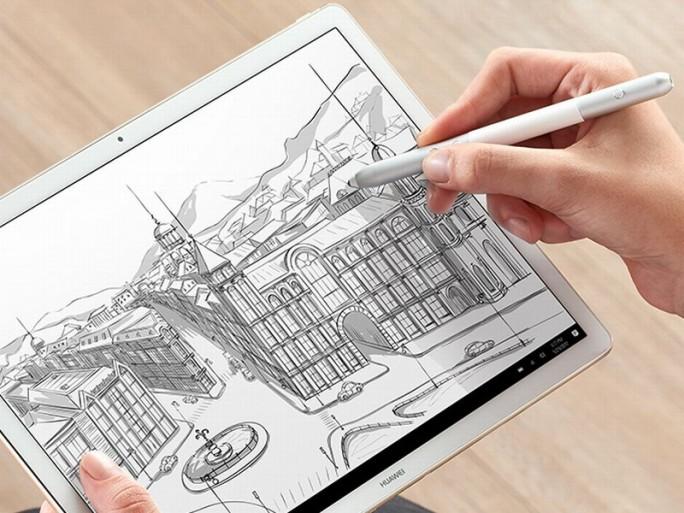 Das Huawei MateBook E unterstützt auch die Arbeit mit dem HuaeiPen (Bild: Huawei)