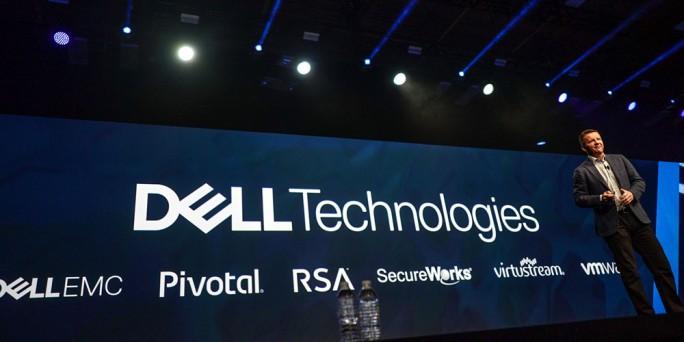 Jeremy Burton, Chief Marketing Officer Dell Technologies, bei einem Vortrag auf einer Firmenveranstaltung (Bild: Dell Technologies)
