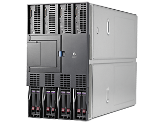 Das HPE Integrity BL890c i4 Server-Blade. (Bild: HPE)