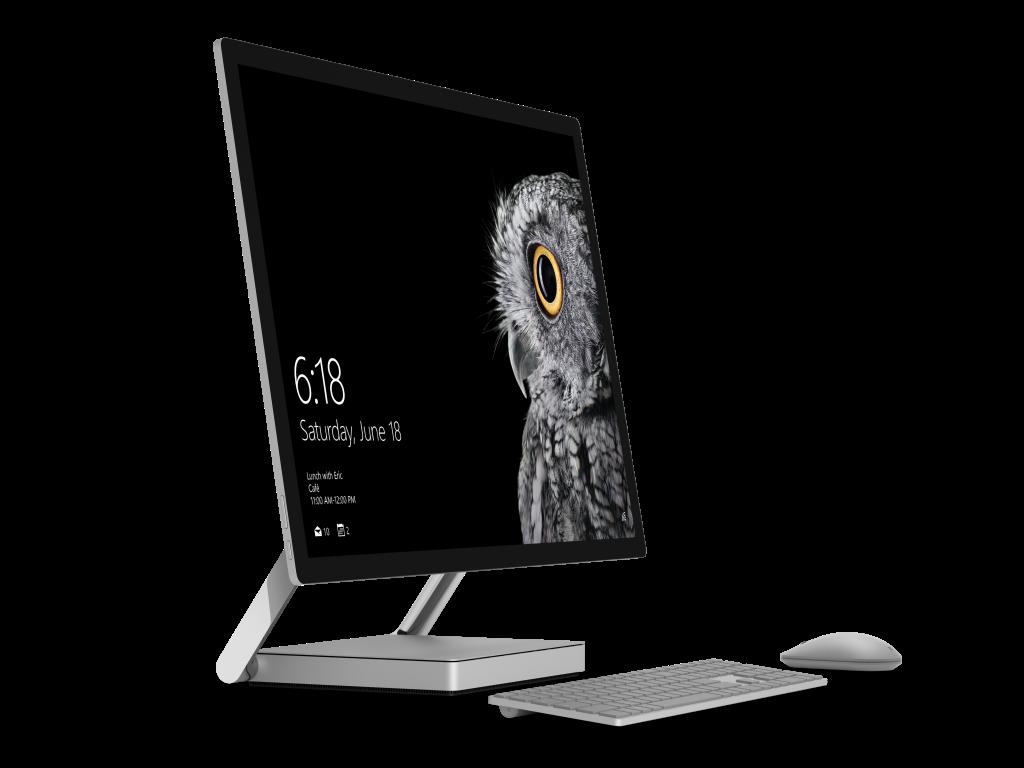Der All-in-one-PC Surface Studio mit einem 28 Zoll großes Touch-Display. (Bild: Microsoft)