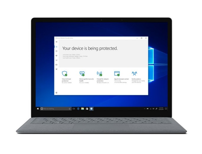 """Bei Windows 10 S steht das S laut Microsoft-Manager Myerson nicht zuletzt für """"Sicherheit"""". (Bild: Microsoft)"""