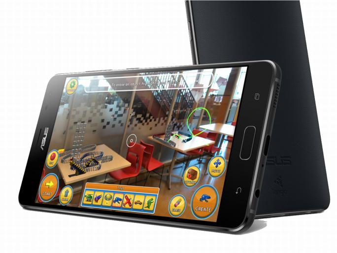 Google Daydream sorgt auf dem Asus ZenFone AR für Virtual Reality (Bild: Asus)