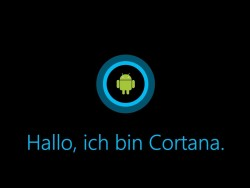 Cortana Android (Grafik: silicon.de)