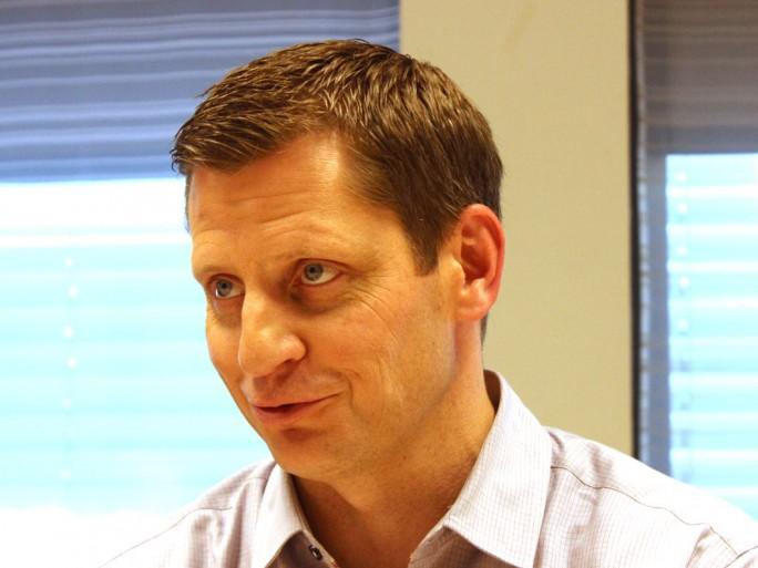 """""""Kein Unternehmen muss Opfer der Daten-Revouliton werden"""", versichert Rob Thomas, General Manager Analytics bei IBM im Gespräch mit silicon.de. (Bild: Martin Schindler)"""
