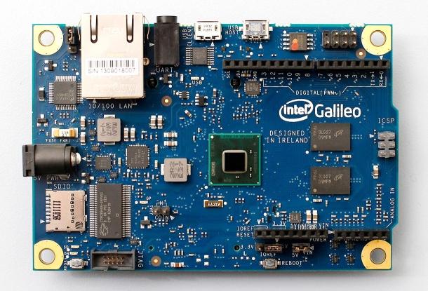 Galileo war ein Arduino-kompatibles Entwicklerboard von Intel. (Bild: Intel)