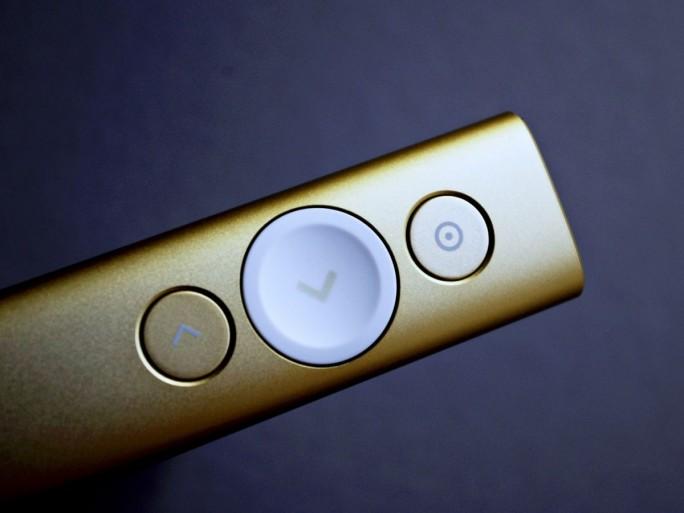 Der Spotlight kostet 129 Euro. Die dazu gehörige Steuersoftware läuft auf Windows und auf Mac OS. (Foto: Mehmet Toprak)