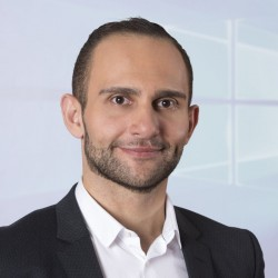 Milad Aslaner, Senior Product Manager Windows Commercial und Security bei Microsoft Deutschland (Bild: Microsoft)