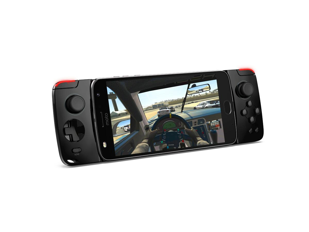 Das Moto Z wird mit dem Moto Game Pad zur Handheld Spielekonsole