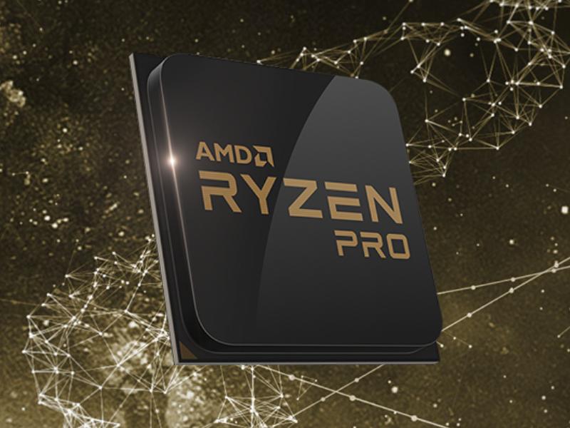 AMD stellt Ryzen Pro als Alternative zu Intel-vPro-CPus vor