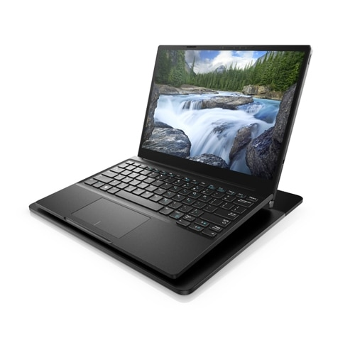 Dell Latitude 7285 2-in-1 auf der Dell Wireless Charging Mat (Bild: Dell)