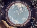 Blick aus der Internationalen Raumstation in Google Street View. (Bild: Google)